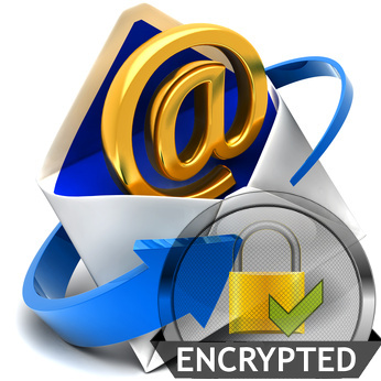 To encrypt an email